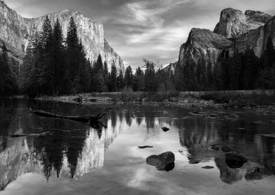 The Captain And Merced - Yosemite N.P.