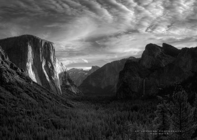 Tunnel View, Yosemite Valley