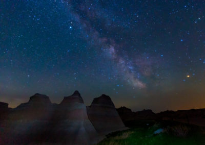 Badlands N.P. - Milky Way Stars