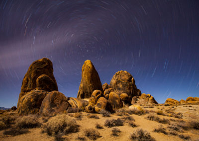 Alabama Hills Star Trail- Lone Pine California