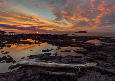 Silver Bay Sunrise - North Shore of Lake Superior