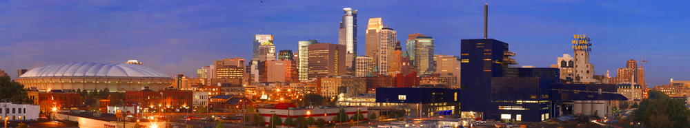 Minneapolis Panoramic Skyline #2