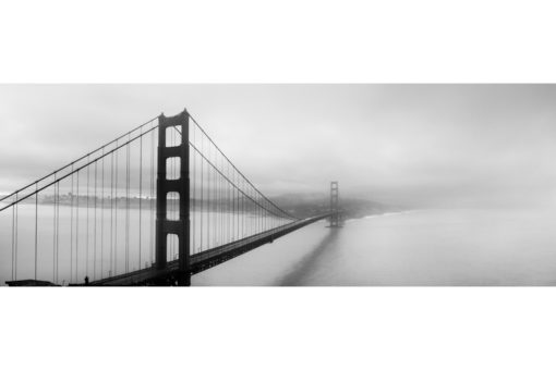 Fine Art Photography, Black and White Photography, Landscape Photography, San Francisco, Golden Gate Bridge in Fog