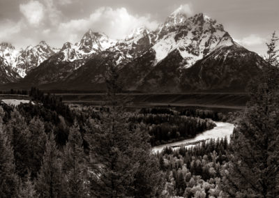 Grand Teton, Jackson Hole, Snake River Overlook